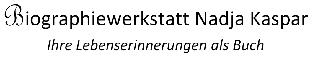 Biographiewerkstatt Nadja Kaspar